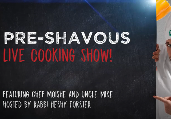 Shavuos cooking show