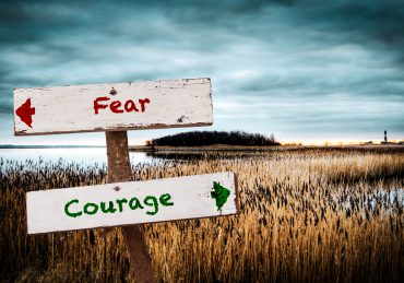 Parshas Shoftim fear and courage signposts